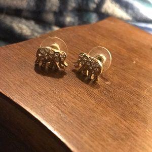 Jewelry - Elephant earrings.